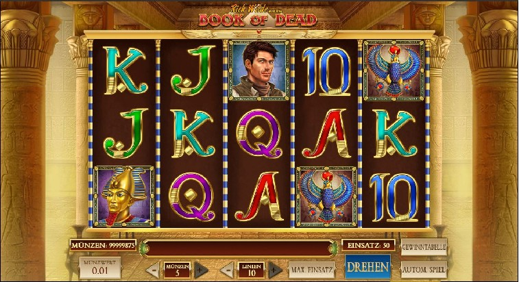 Das Book of Dead Spielslot