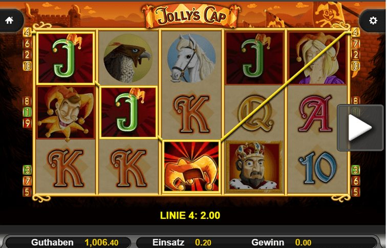 Jokers Cap Slotspiel