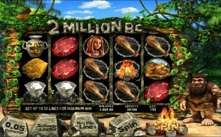 Das 2 Million B.C. Slotspiel