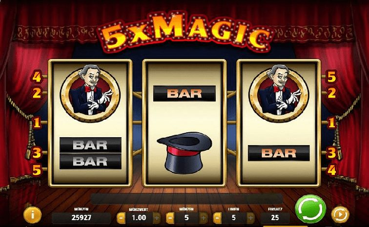 Das 5x Magic Slotspiel
