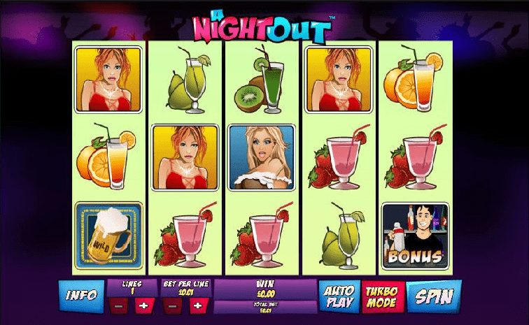 Das A Night out Slotspiel