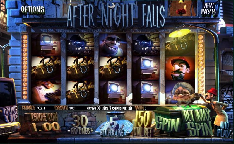 Das After Night Falls Slotspiel