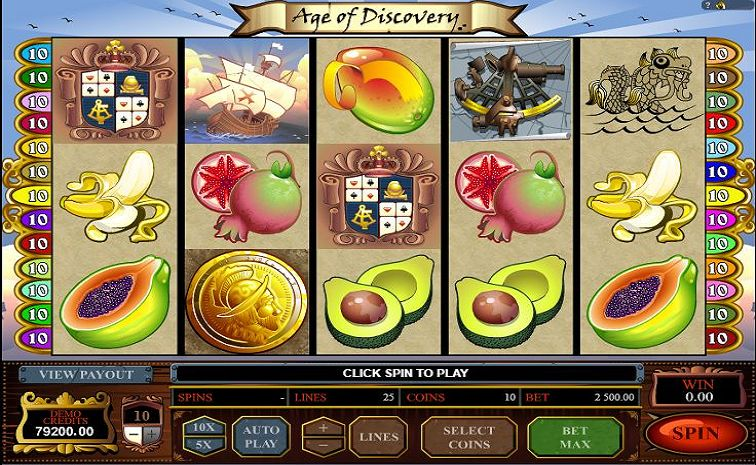 Das Age of Discovery Slotspiel
