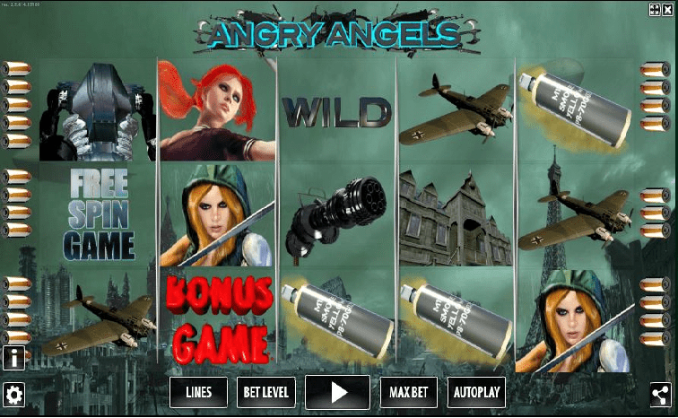 Das Angry Angels Slotspiel